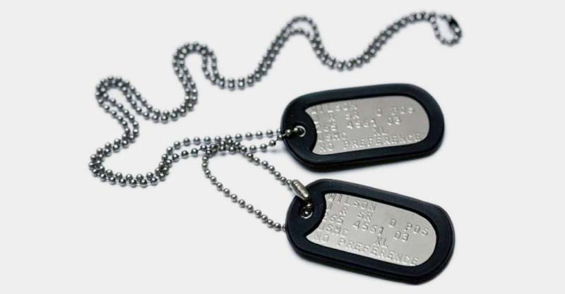 identitech section custom dog tags